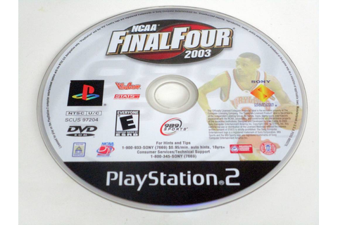 NCAA Final Four 2003 game for Sony PlayStation 2 | The ...