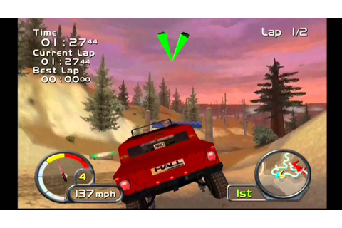 Test Drive Off Road Wide Open (PS2) Gameplay 1 - Rod Hall ...