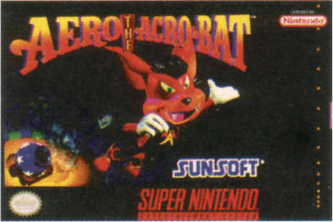 Retro Game Guide - SNES - Aero the Acro-Bat