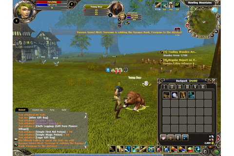 PegaSoft Online Role-Playing Game Project - Technical ...