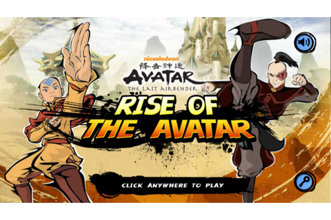 Nick Games: Avatar The Last Airbender - Rise Of The Avatar ...
