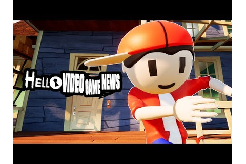 HELLO VIDEO GAME NEWS | Hello Neighbor Mod [BIRTHDAY LIVE ...