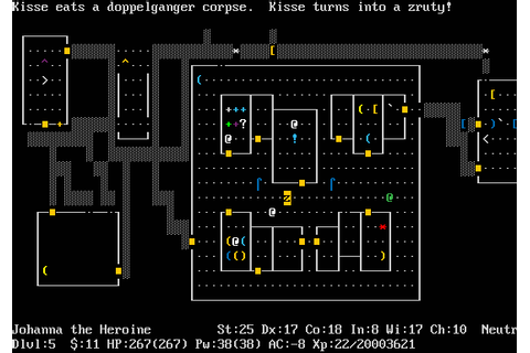 it's a clean machine: Favorite Games: Nethack
