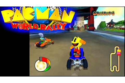 Pac-Man World Rally ... (PS2) - YouTube