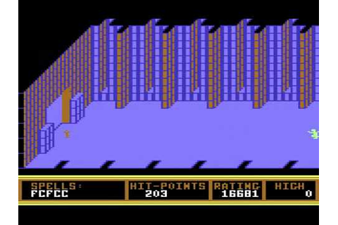 C64 Longplay - Realm Of Impossibility - YouTube