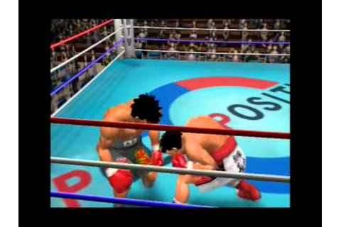 Hajime No Ippo (PS2) - Victorious Boxers 2 - Fighting ...
