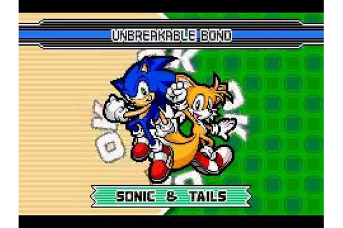 Sonic Advance 3 - Teams (GBA) - YouTube