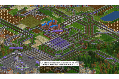 OpenTTD (Open Transport Tycoon Deluxe) – Open Source Games