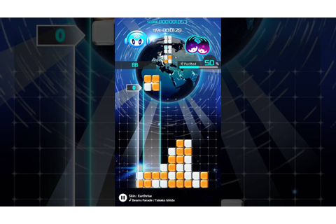 A MOBILE GAME THAT'S WORTH YOUR TIME AND MONEY? Lumines ...