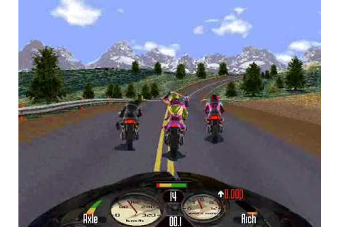 Road Rash (PC) Game Review - YouTube