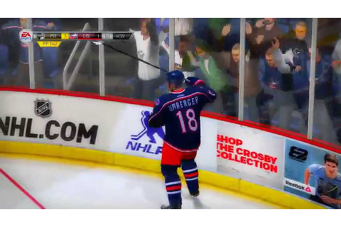 Top 10 NHL 14 In-game goals - YouTube