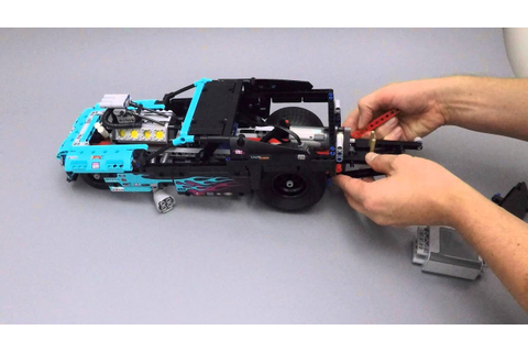 Lego Technic F1 Car With Power Functions