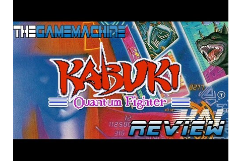The Game Machine: Kabuki Quantum Fighter Review NES - YouTube