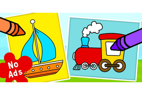 Coloring Games for Kids - Drawing & Color Book - Apps on ...