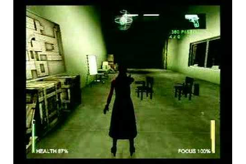 Enter the Matrix - PS2- In-Game Dialog Editing - YouTube