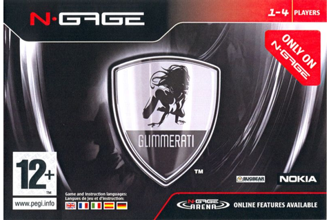 Glimmerati (2005) N-Gage box cover art - MobyGames