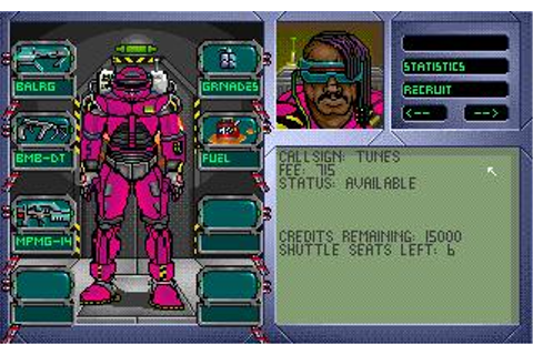 Tegel's Mercenaries Download (1992 Strategy Game)