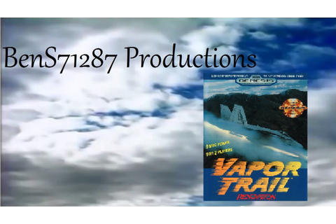 Vapor Trail Sega Genesis Game Play - YouTube