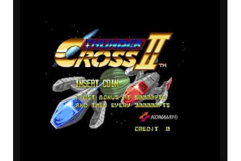 Thunder Cross 2 music OST - Stage 1 - YouTube