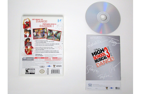 High School Musical 3 Senior Year Dance game for Wii ...