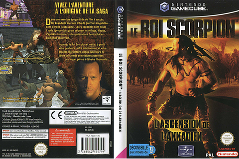 GSKP7D - The Scorpion King : Rise of the Akkadian