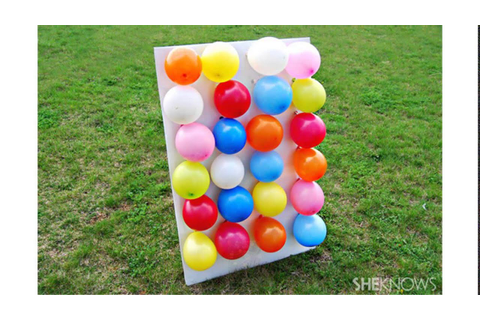 balloon games for kids - YouTube