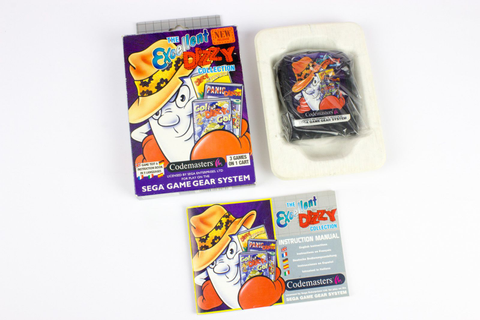 The Excellent Dizzy Collection for Sega Game Gear, 1994 ...