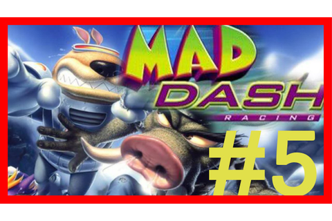 Mad Dash Racing: Level 5 - Mt Magma - YouTube