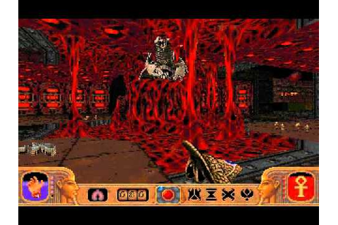 Powerslave (Exhumed) PC - Level 19 (Boss Arena ...