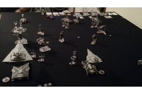Miniature Insurrection: Star Wars Armada: first play