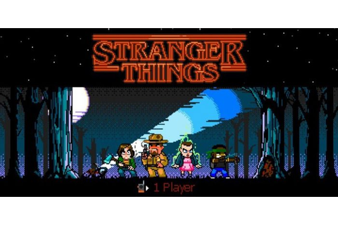 Into the Upside Down: Stranger Things Games - Social News ...