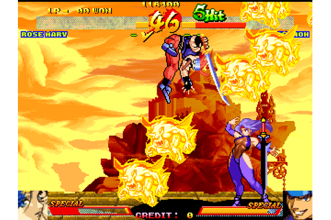 Asura Blade: Sword of Dynasty (1998) Arcade game