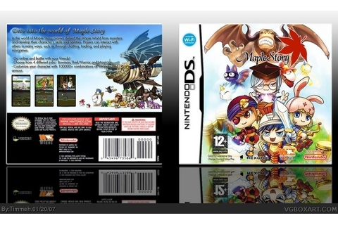 Maple Story Nintendo DS Box Art Cover by Timmeh