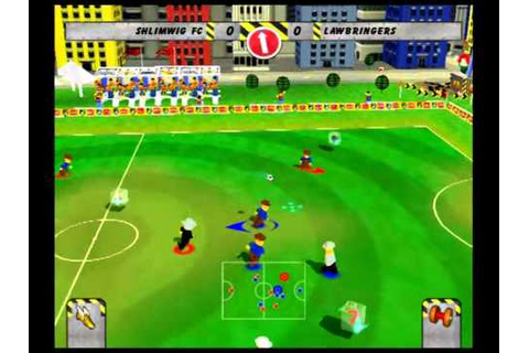 LEGO Football Mania PS2 gameplay (2 Player Friendly ...
