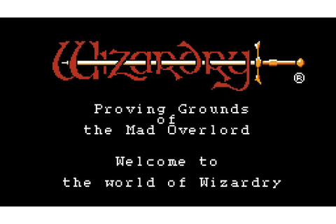 Wizardry - Proving Grounds of the Mad Overlord (USA) ROM