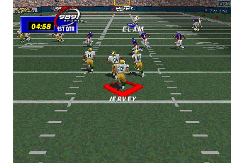 NFL GameDay 99 videos for Sony Playstation - The Video ...