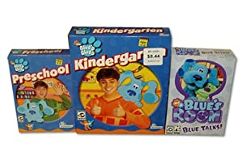 Amazon.com: Blue's Clues 3 Pack: Kindergarten, Preschool ...