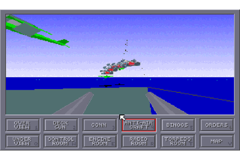 Das Boot: Awesome ww2 submarine simulator game on Amiga ...
