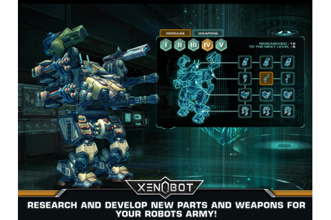 Xenobot. Battle robots. for Android - APK Download