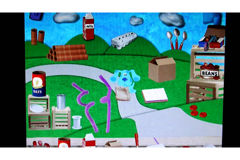 Blue's Clues Art Time Activities Part 8 (Final) - YouTube