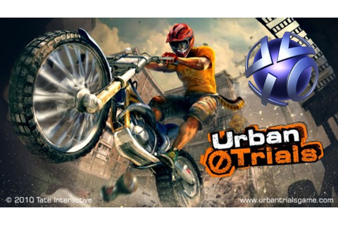 PSVITA:URBAN TRIAL FREESTYLE - YouTube