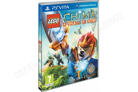 LEGO Legends of Chima : Le voyage de Laval PS Vita Pas ...