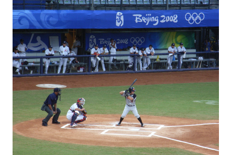 File:Baseball game in Beijing 2008 Japan Vs Holland 02.jpg ...