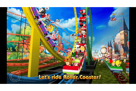"Theme Park Rider Online ""Casual Games"" Android Gameplay ..."