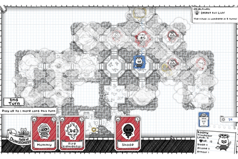Guild of Dungeoneering Mobile Review | GameGrin