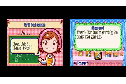 Cooking Mama DS Episode 2 - video dailymotion