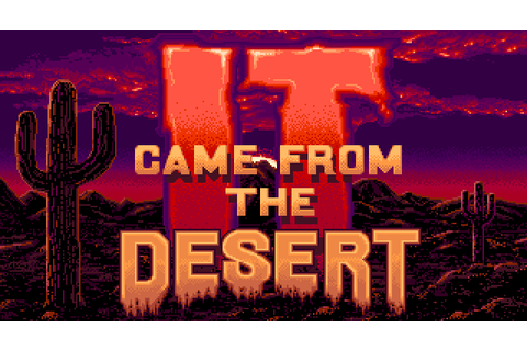 It Came from the Desert (1989, Commodore Amiga ...