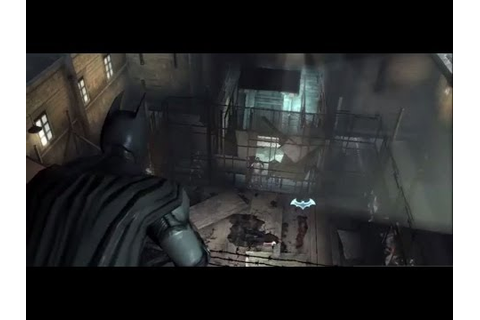 Batman: Arkham Origins Blackgate -- Cell Blocks Gameplay ...