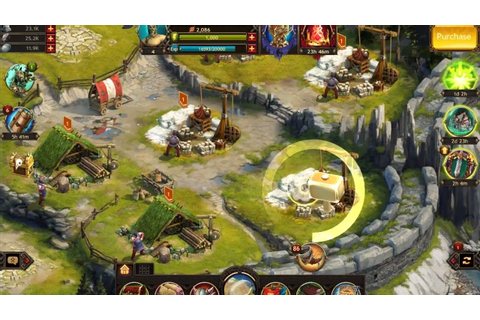 Vikings War of the clans Android IOS PC Multiplayer ...