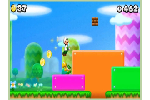 How to Get Luigi on New Super Mario Bros. DS: 13 Steps